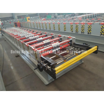 PPGI Corrugated Roof Tile Roll Forming Machine