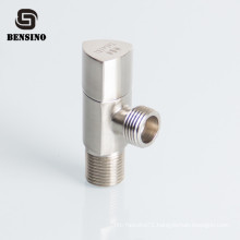 Triangle Shape Right Stop Angle Valve 1/2 Inch For Toilet Bathroom