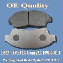 Plaquette de frein D562 Camry 2.2