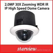 2.0MP 30X WDR IP integrada de red de la cámara domo PTZ