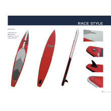 Racing Long Paddle Boards with Pointed Bow