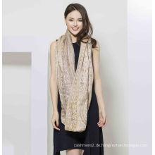 2017 New Style 50% Seide 50% Wolle Schal für Frauen