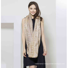 2017 New Style 50%Silk 50%Wool Scarf for Women
