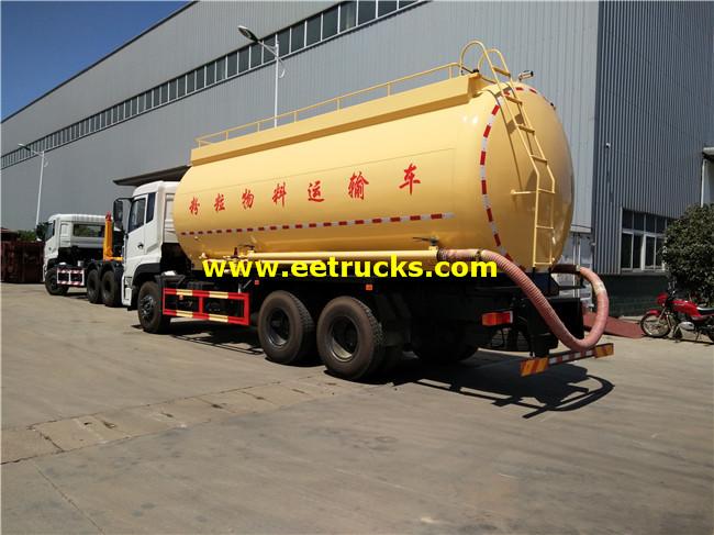 28 CBM Plastic Pellet Tanker Trucks