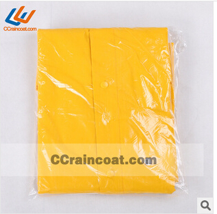 High quality firm polyester pvc raincoat for men European hot
