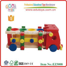 2015 multi-function Kids DIY Toy Wooden Tool Toys