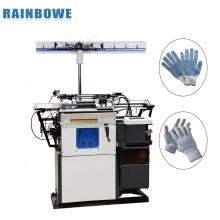 Máquina de luvas de trabalho automático de fácil operação para luvas de malha