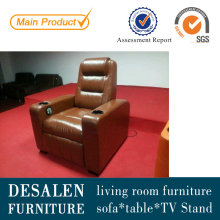 High Quality Home Theater Leather Recliner Sofa (G021)