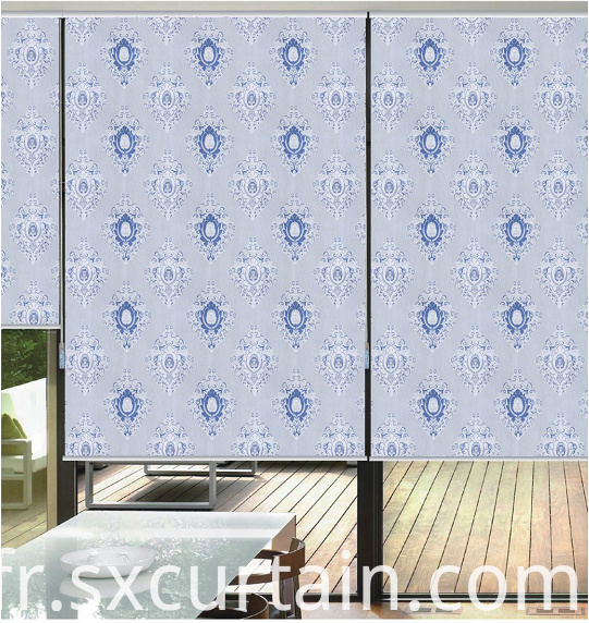 Jacquard Roller Blind Shade Curtain