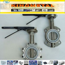 API 609 Stainless Steel CF8 PTFE Seat Lug Butterfly Valve