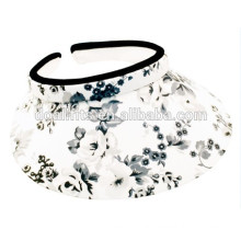 2016 new fashion sun visor cap with digital printing