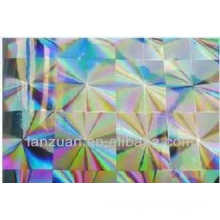 PET heat transfer film for cosmetics wrap
