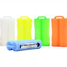 Double 18650 Batteries Silicone Case 2PCS of 18650 Rubber Case Holder