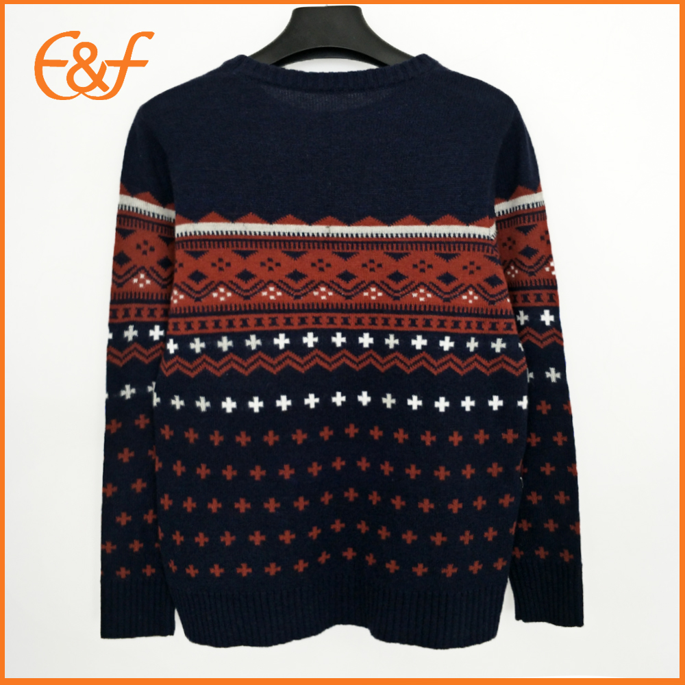 Knitting Pattern Cashmere Sample Sweater For Men