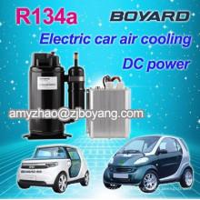 Rotary r134a mini compressor DC para condicionador de ar portátil carro 12v