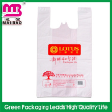 special offer for ecofriendly resealable plastic tshirt bag with logo