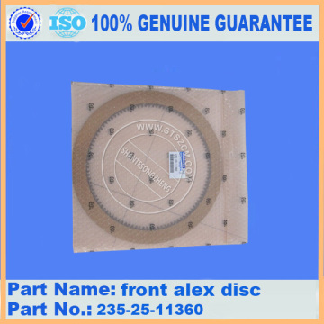 GD825A-2 GD555-3 WA420-3 front alex disc 235-25-11360