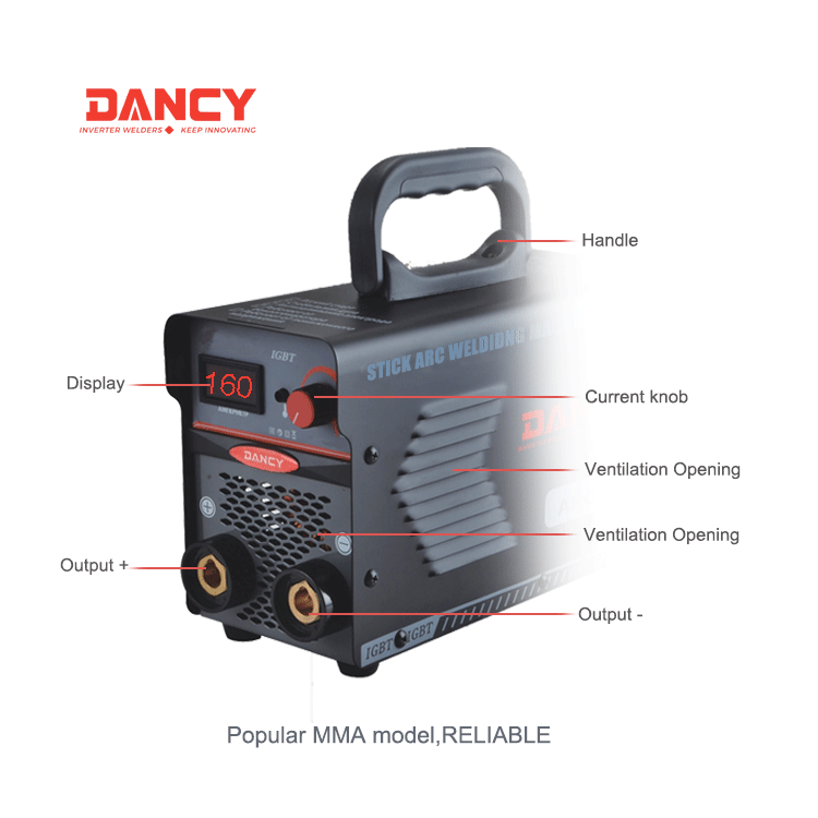 mma 160 inverter welding machine