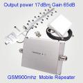 GSM 900 MHz Handy GSM900 Signal Booster, Handy GSM Signal Repeater Verstärker + Netzteil
