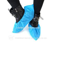 Capa de sapato descartável CPE de tamanho mais grosso
