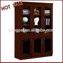 Three door Glass Door Office Furniture filling cabinet