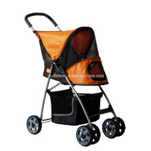 Pet Trolley Dog Cart Cage Carrier Pet Stroller