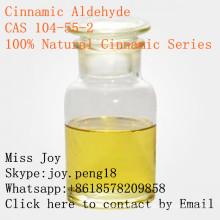 Cinnamaldehyde cinnamique 100% naturel de haute qualité CAS 104-55-2 principal approvisionnement d'usine