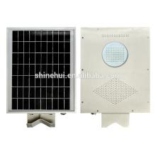 5 años de garantía 8w al aire libre jardín solar iluminación ventilador solar y sistema de iluminación