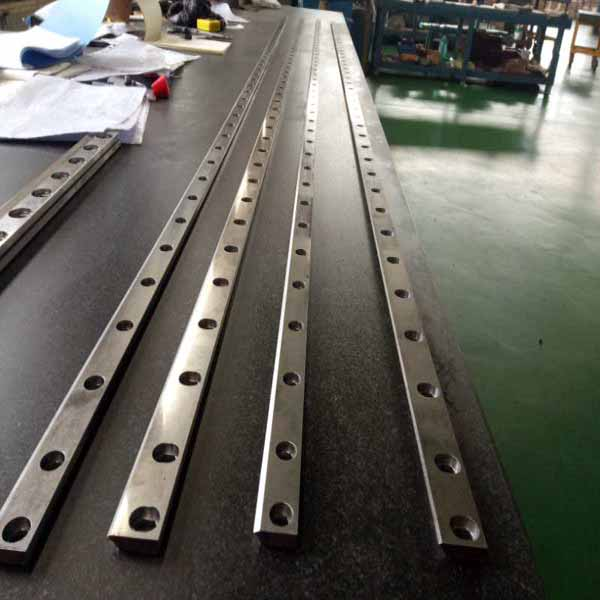 Corrugation Machine Spare Parts Nc Cut Off Blade Huatao Group