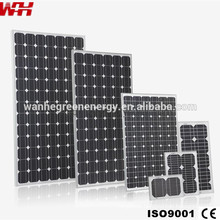 30 Watt Monocrystalline Solar Panels for Home Use