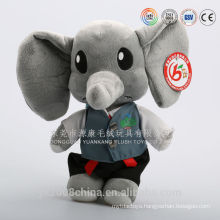 China factory direct sale stuffed animal toys white elephant