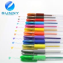 12 cores Gel de caneta, caneta Gel, para a promoção e o presente