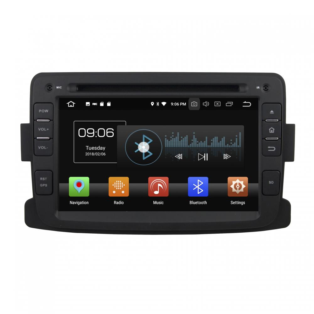 android car multimedia for Duster 2014-2016 Deckless