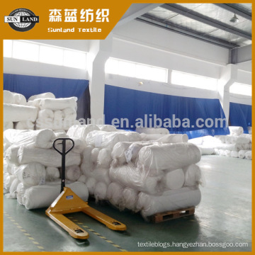 100% polyester interlock grey fabric for dyeing fabric