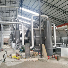 Small+Tire+Plastic+Pyrolysis+Oil+Process+Machine