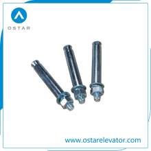 Galvanized/Zinc Plated Anchor Bolts, Passenger Elevator Parts (OS25-A, OS25-B)