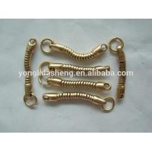 Anillo y cadena de encargo del metal de la alta calidad