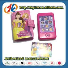 China Hersteller Niedlich Mini Kunststoff Telefon Spielzeug mit Telefon Abdeckung