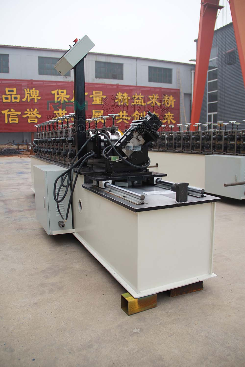 C U Shape Stud And Track Roll Forming Machine