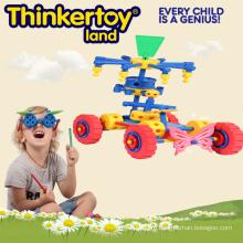 Творческий детский блок для детей в форме грузовика