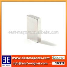 N45 magnético Appliance Neodymium Blocks NdFeB ímã / níquel prateado ímã bloco forma à venda