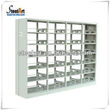 Fabricante de móveis de escola OEM & ODM Novo estilo biblioteca de livros de metal prateleiras