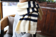 Yhao 2016 new winter windproof pashmina knitted scarf warm scarf for men and women