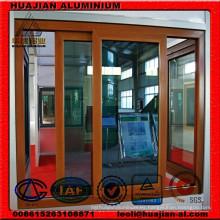 Perfiles de extrusión de aluminio para puertas correderas y ventanas