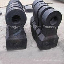 High Manganese Hammer Head Parts for Hammer Crusher