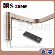 Système de rideau à limite électronique AC 110v Moteur, barres de rideaux électriques à télécommande