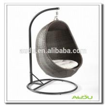 Audu Outdoor Rattan Hanging Egg Chair / Oval Egg Chair / Hanging Egg Chair