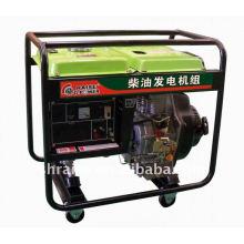 Open frame diesel generator