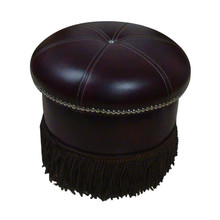 Luxury Hotel Round Ottoman Hotel Furniture