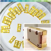 808nm для микро водяным охлаждением решеткой 100Вт бары микроканальных диода